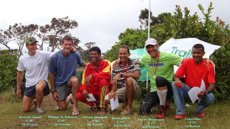 the initiators of the trail in mauritius
