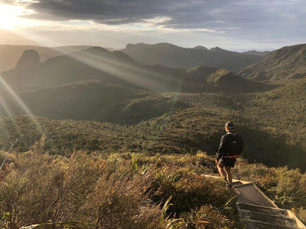 Running the Pinnacles, New Zealand