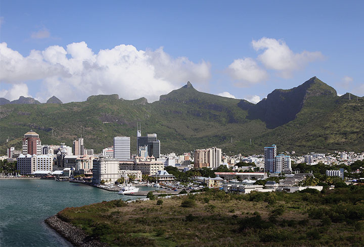 Port louis capital city