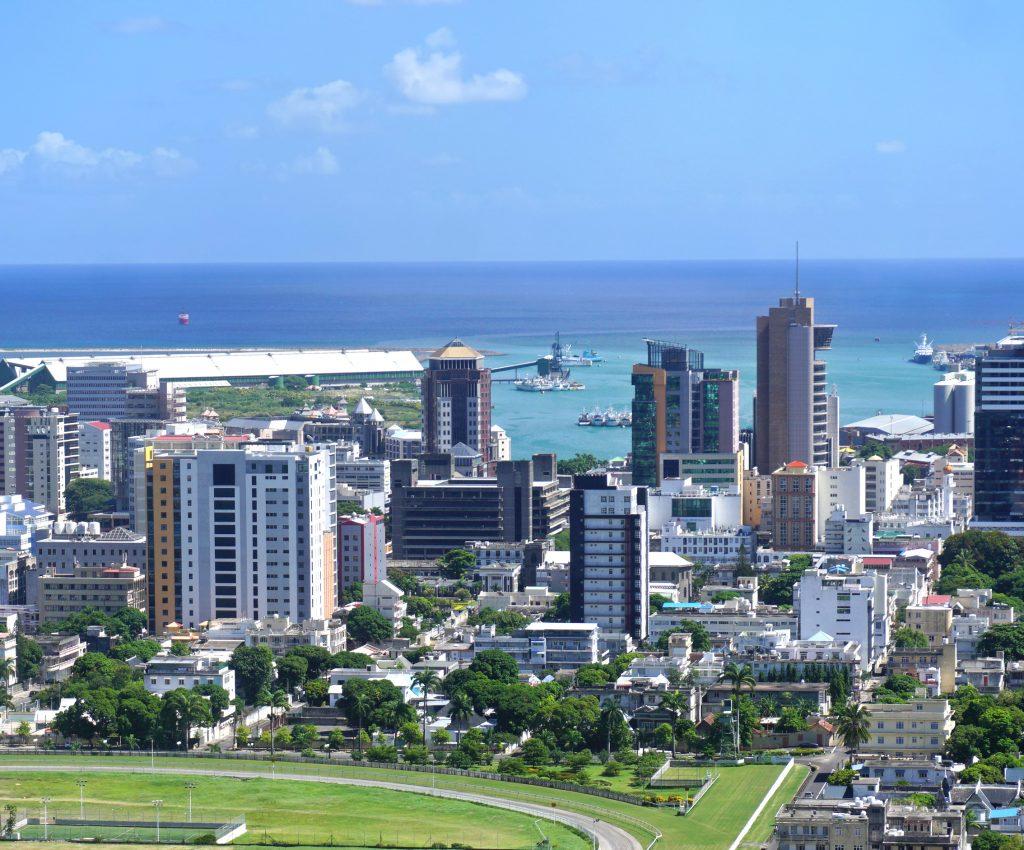 vue aérienne de port-louis